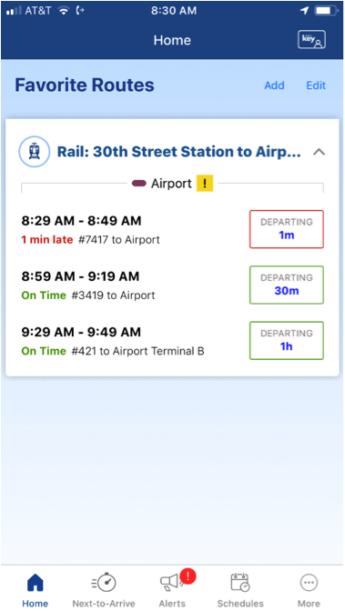 SEPTA | New SEPTA Key App Features