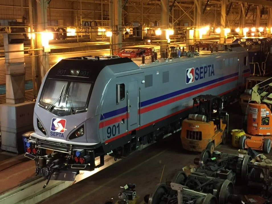 SEPTA locomotives, siemens, acs-64, regional rail