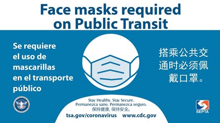 Federal Mask Mandate on Public Transportation