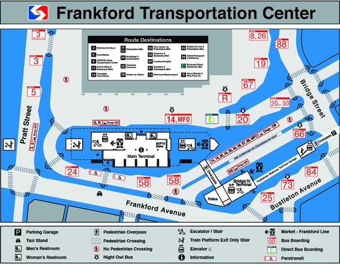 SEPTA | Frankford Transportation Center on berlin bus map, wmata bus map, ac transit bus map, philadelphia bus map, coach usa bus map, boston bus map, chicago bus map, smart bus map, ride on bus map, nj transit bus map, center city bus map, cleveland rta bus map, mbta bus map, vre bus map, metro bus map, kennedy plaza bus map, vancouver bus route map, bart bus map, short line bus map, sf bus map,